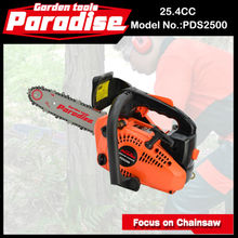 PDS2500 12inch 3/8 pitch 25.4CC Small Pocket Gas Chainsaw 2500