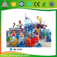 merry go round Mermaid kids play toys for the theme parks
