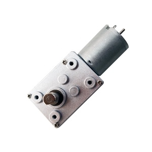high quality small worm geared 25mm dc motor