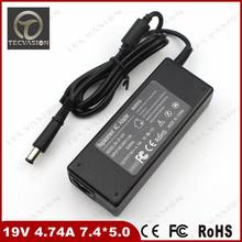 Top Quality Laptop AC Power Adapter Charger For HP N113 19V 4.74A 7.4*5.0 Free Shipping For HP Laptop Notebook Power Adapter
