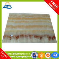 Non Combustible 2015 New Building Materials High Hardness price pvc wall panel