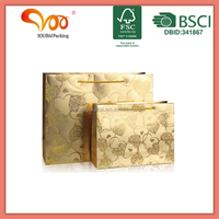 LUXURY PAPER SHOPPING BAG WITH FULL CORVEHorizontal bagHorizontal bagRAGE HOT STAMP
