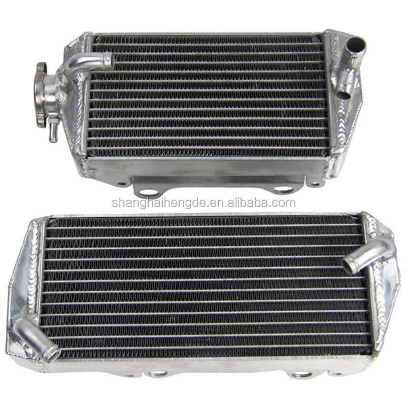 Aluminum Motocycle Radiator for SUZUKI RMZ250 04 05 06 & radiator manufacturer & motorcycle part