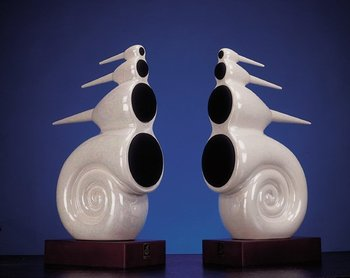 HI-END CERAMIC NAUTILUS SPEAKER