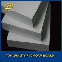 1220*2440 china press glossy color rigid pvc film sheet