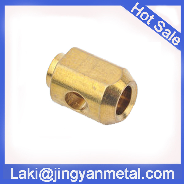 CNC machining special brass elbow coupling parts
