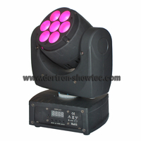 led moving head beam light 7x8w rgbw 4in1
