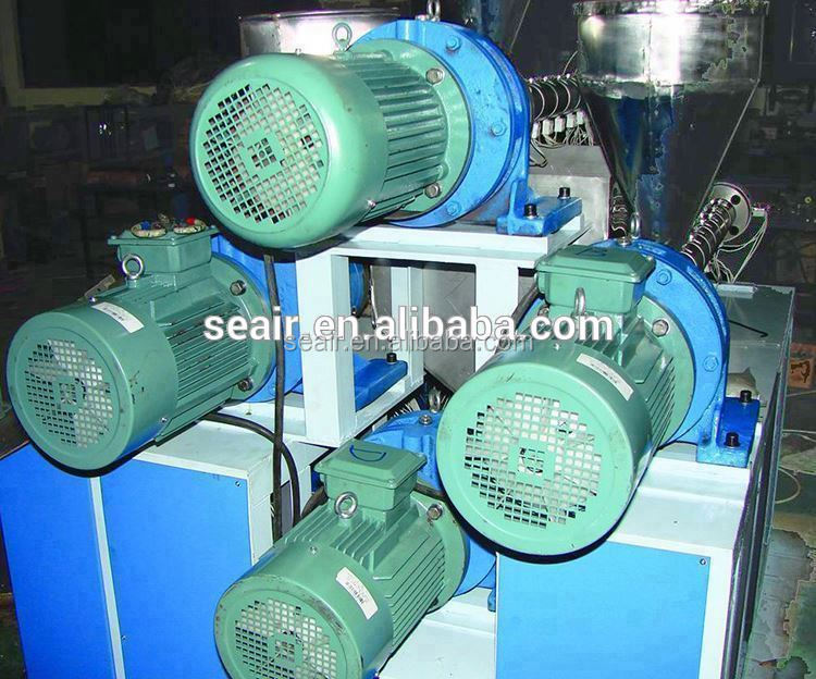 plastic machinery,factory pp/pe three color drink straw making machine / production line