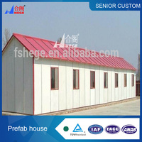 New type portable steel structure prefabricated houses