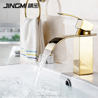 JM025 Single Lever Cold And Hot Water Brass bathroom wash basin mixer Faucet