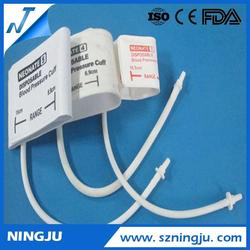 hot selling medical quipment adult single tube cuff blood pressure tubing