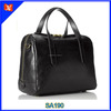 Genuine cow leather handbag for women ladies fashion luxury tote crossbody bag satchel wholesale