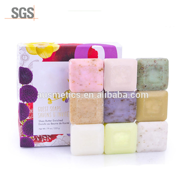 Ausmetics customized natural herbal body care antibacterial bath soap collagen skin whitening organic soap