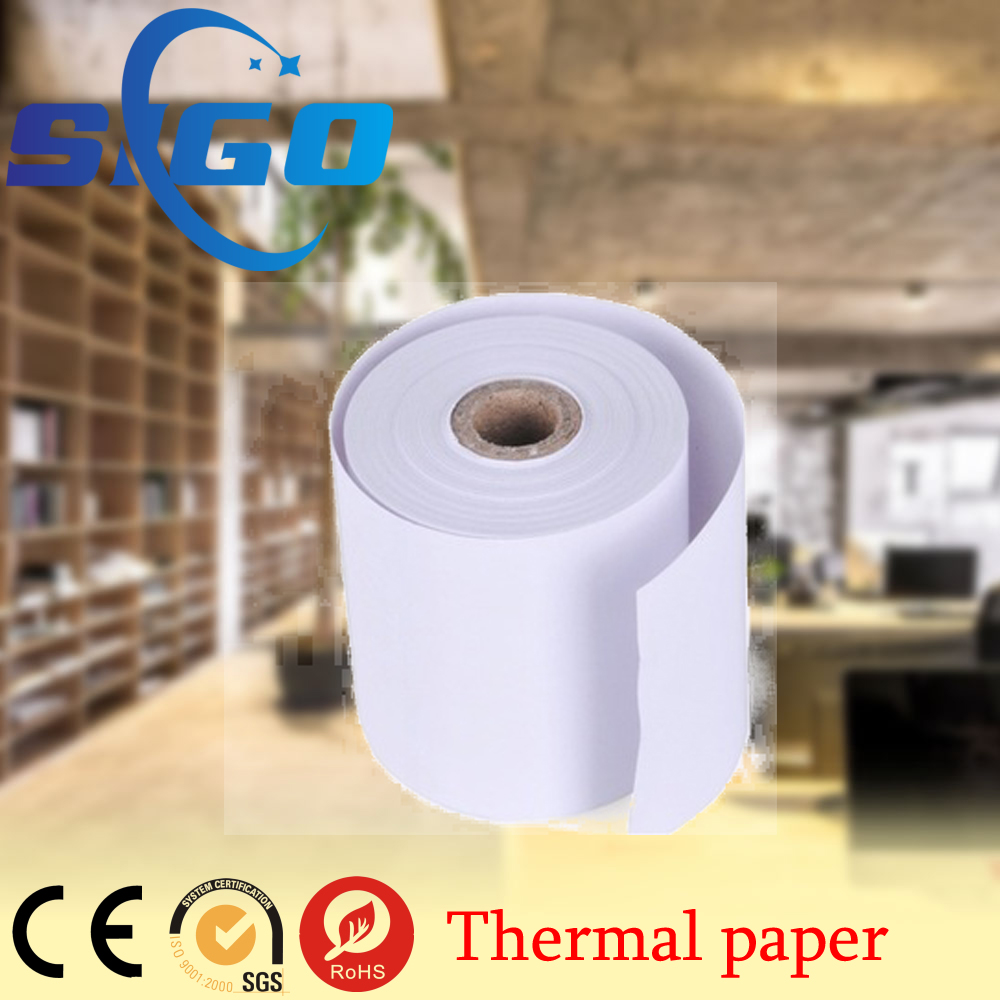 SIGO 60Gsm High Quality 80x80 Thermal Paper Rolls/thermal Cash Register Paper Rolls