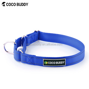 Top Selling Pure Nylon Martingale Dog Collar for Dog Training, With Buckle for Easy Wearing