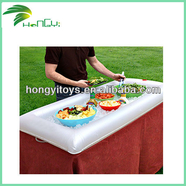 Hot Selling Inflatable Commercial Ice Salad Bar For Sale