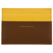 Cheap Price Soft Leather Business Credit ID Card leather card cases for women