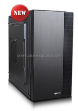 simple design ATX pc case with chassis size L350*W165*D332mm,fashion micro ATX pc case