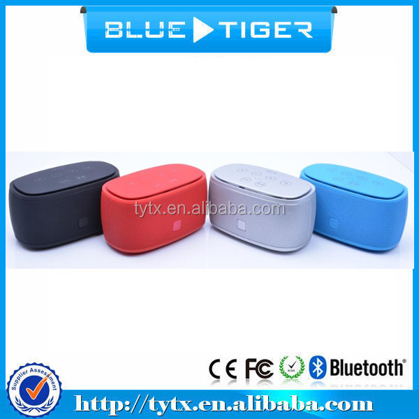 CSR Wireless Portable Turely Wireless Stereo Bluetooth Speaker with NFC Technology