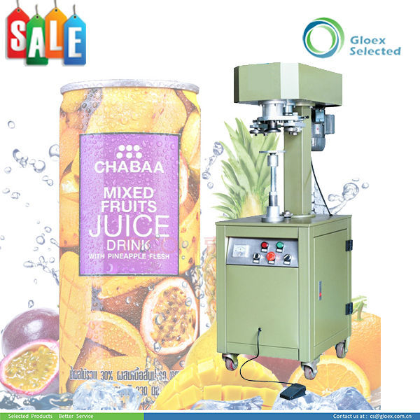 good price semi automatic pet can seamer