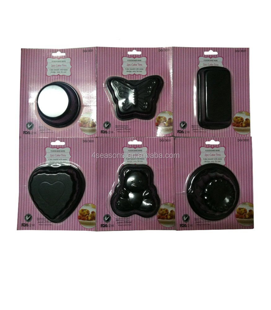 steel cake moulds cake decorating supplies baking tin, cake pan