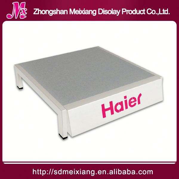 pens display stand, MX8829 metal portable t-shirt floor display stand