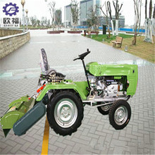 multi-purpose farm mini tractor with plow/ditcher/seeder/potato harvester