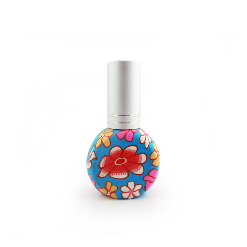 Latest Factory Direct Sale Fancy 20 ml square rotating aluminum perfume bottles