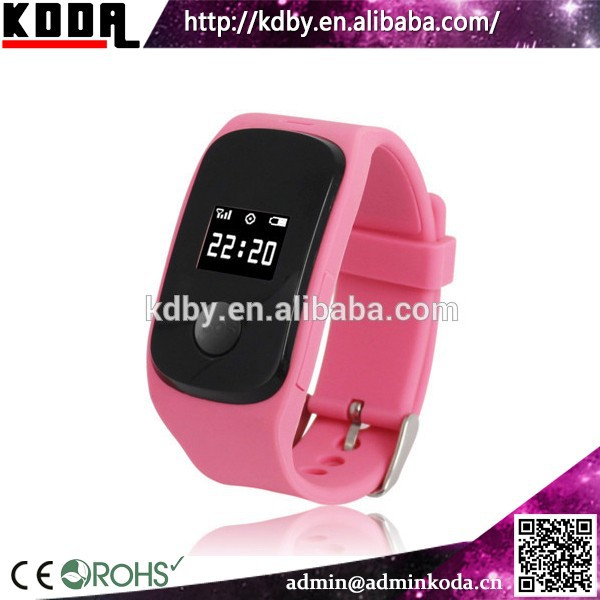 Best Selling Mini Children GPS SOS Watch GPS Tracker GPS Tracking Bracelet Watches Phone