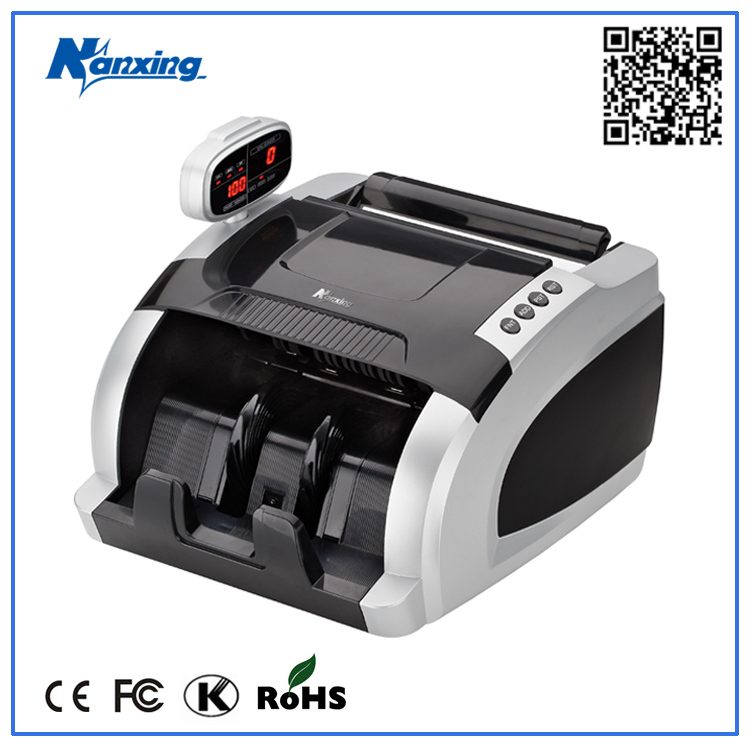 Euro portable multi banknote counter with UV MG detecting