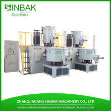 First class best selling pvc powder price mixing units upvc mixer equipment for pvc profile machine