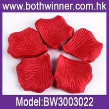 Petal peach make satin ribbon roses ,h0t036 wholesale silk flower petals , free rose petals