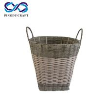 Paper Pp Rope Basket With Cover