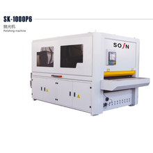 SK1000-P4 wood polishing Curved panel sanding machine for furniture