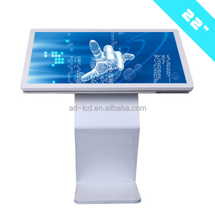 android lcd advertising display touchscreen tv display auo 22 inch led floor kiosk