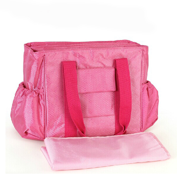 Golden Supplier Pure Color Simple Style Yummy Mummy Diaper Bag
