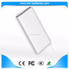 CE,ROSH,FCC certificates 10000mah power bank QC2.0 dual usb output power bank with torchlight