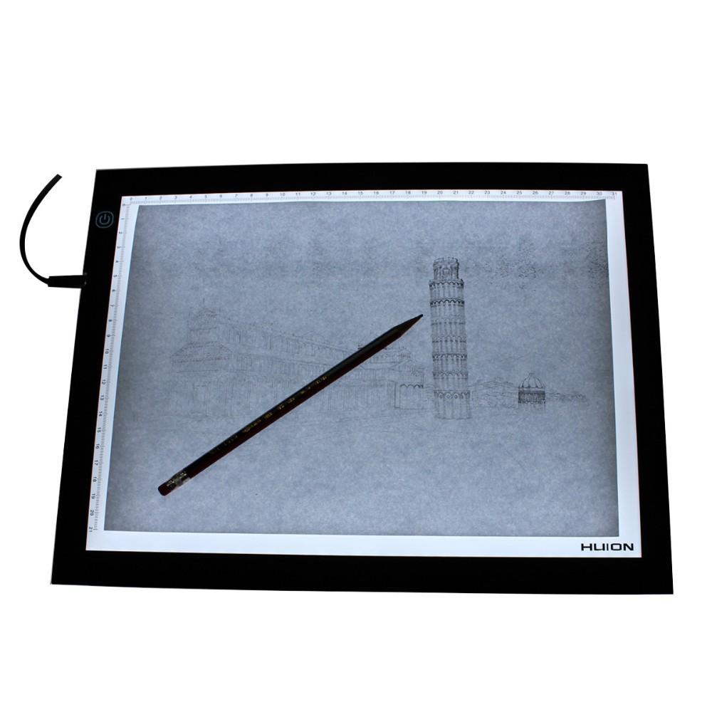 Vente chaude table dessin table planche dessin for Table lumineuse a3