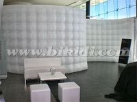 High quality LED light event inflatable wall, LED inflatable photo booth wall for sale C3006