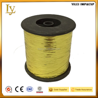 M type pure gold sewing thread for knitting Chinese embroidery yarn