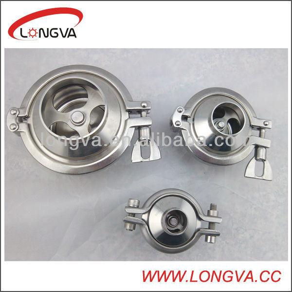 3A/DIN/SMS standard ss welded check valve