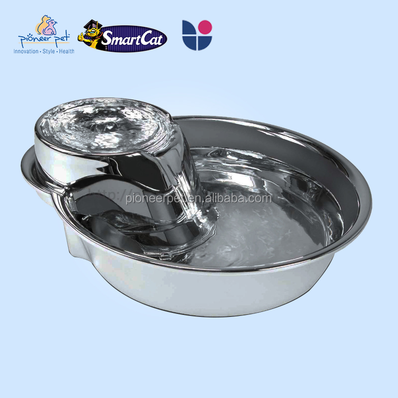 2016 new pet dog stainless steel dog bowls / dog automatic feeder