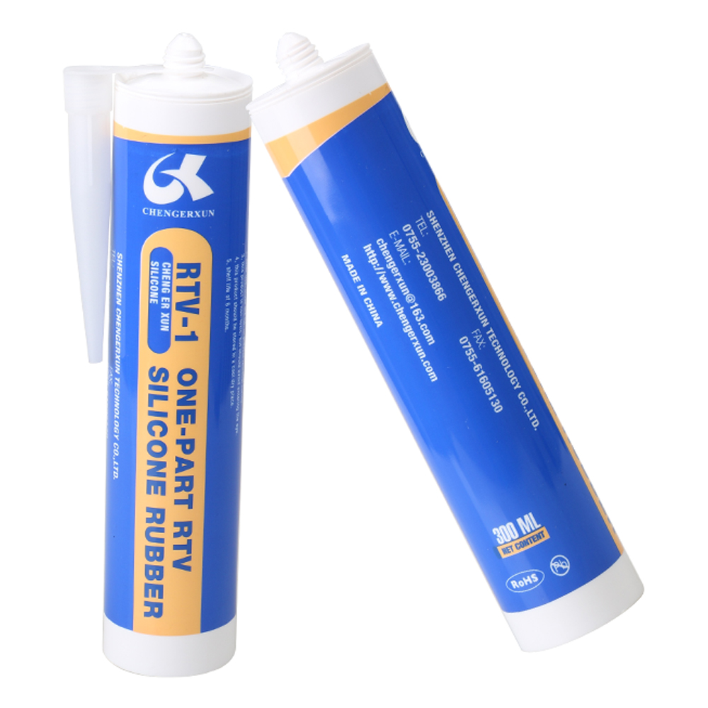 100ml 300ml tube RTV one part liquid silicone glue adhesive