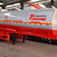 3 Axle CIMC Tank Semi Trailer