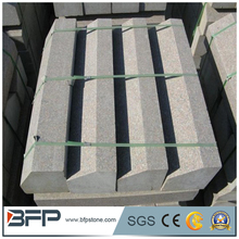 Granite landscaping stone standard kerbstone sizes for road paving