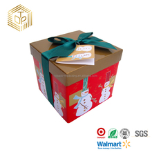 Christmas Gift Box Custom logo Christmas Paper Gift Boxes