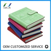 A5 pu Genuine Leather Exeutive Notebook Cover