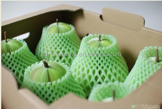 Factory direct fruit protection foam packing net, net wrappers, net mesh fruit packing bags