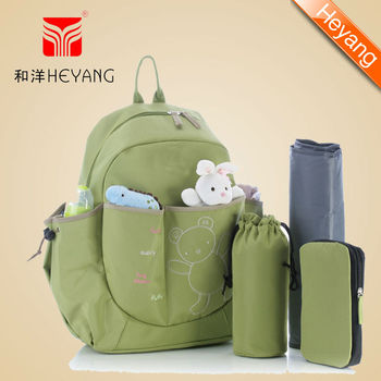 microfiber backpack diaper mummy bag