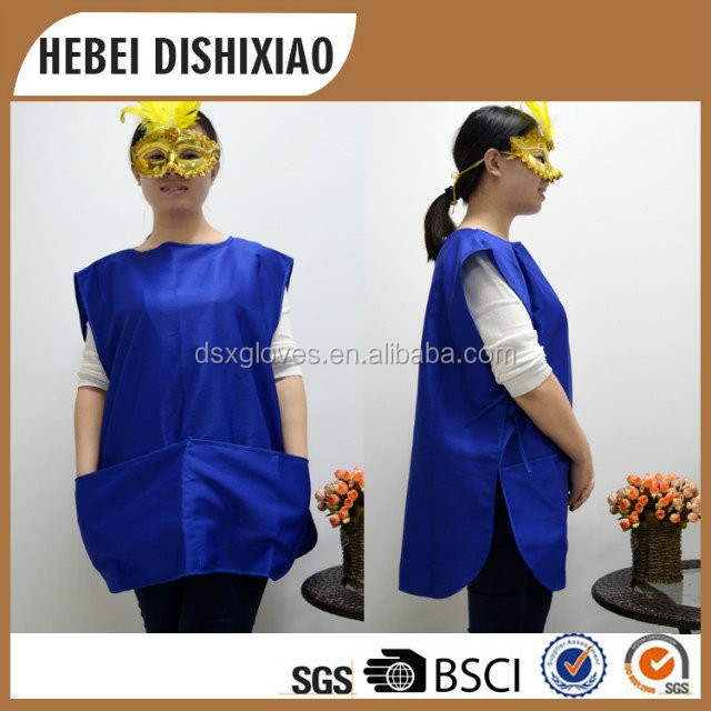 Bule Double Side Waterproof Cobbler Aprons Wholesale